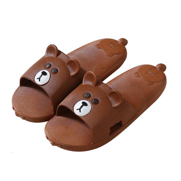 Dép Quai Ngang Nữ Hình Gấu TEDDY Cực Dễ Thương Chống Trơn Chống Trượt giá rẻ
