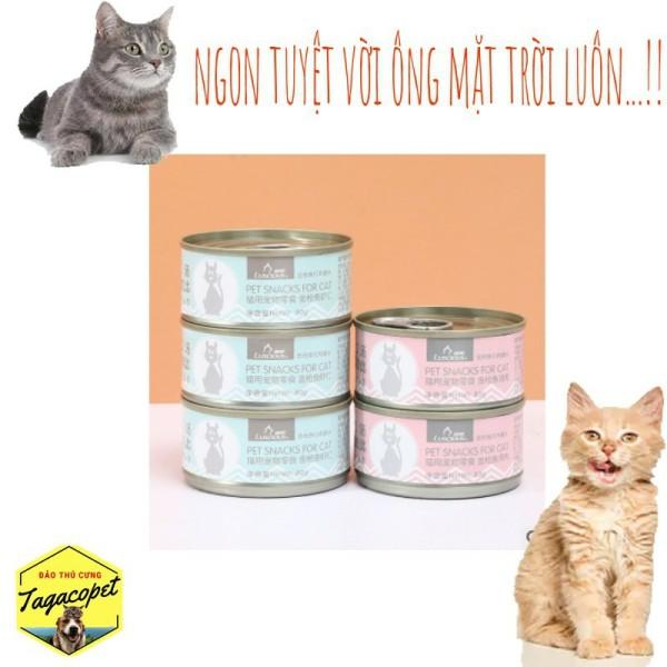 Pate Lon Siêu Ngon Trộn Cơm Cho Mèo – 80gr