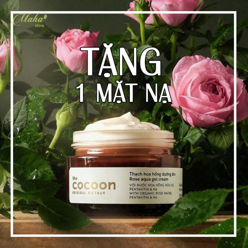 [QUÀ TẶNG]Thạch hoa hồng Cocoon dưỡng ẩm, khóa ẩm 24h giúp da mịn màng