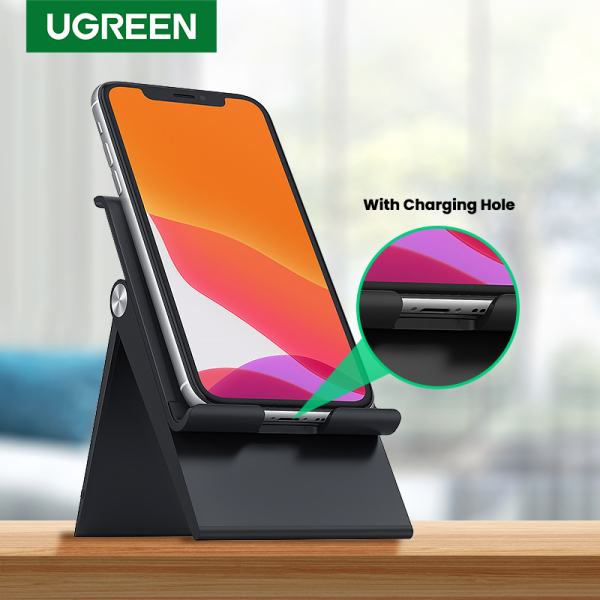 UGREEN Phone Stand Holder Desk Cell Phone Dock Stand for Huawei OPPO VIVO Realme Adjustable Foldable Mobile Phone Holder Stand