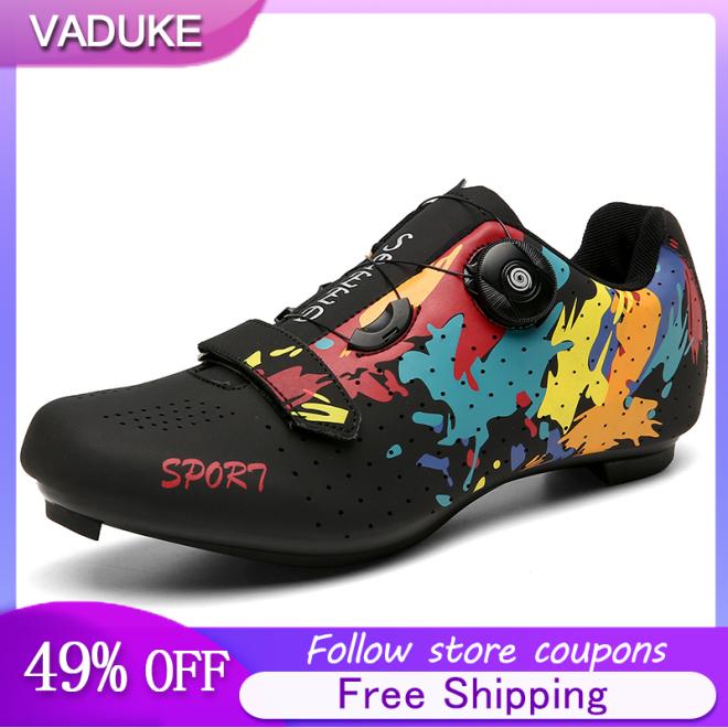 Giày Đạp Xe Nam Road Giày Đạp Xe Thoáng Khí Dành Cho Nam Và Nữ Giày Đi Xe Đạp Đường Trường Không Khóa Cho Cả Nam Và Nữ Bán Chính Hãng Giày Đi Xe Đạp Cho Nam Giày Thể Thao Ngoài Trời Đi Đường giá rẻ