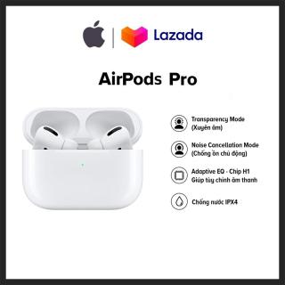 ( Hàng USA Xách Tay FullBox ) Tai Nghe Aripods Pro - Tai Nghe Bluetooth AripodsPro - Chống Ồn, Xuyên Âm, Chip Cảm Biến, Sạc Không Dây Chuẩn Qi, Bản Ful Chức Năng - Bảo Hành 12 Tháng 1 Đổi 1 thumbnail