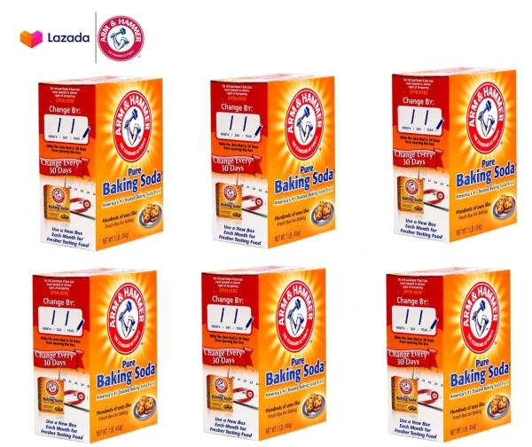 6 Hộp bột baking soda đa công dụng 454g - Mỹ giá rẻ