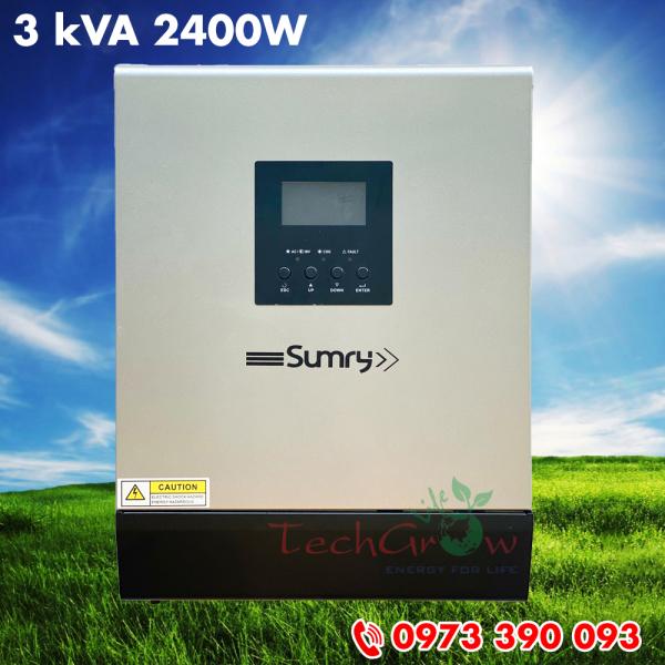 Biến tần nối lưới lưu trữ Sumry 3 kVA 2400W - hybrid inverter