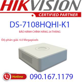 Đầu ghi hình Hybrid TVI-IP 8 kênh TURBO 4.0 HIKVISION DS-7108HQHI-K1(S) thumbnail
