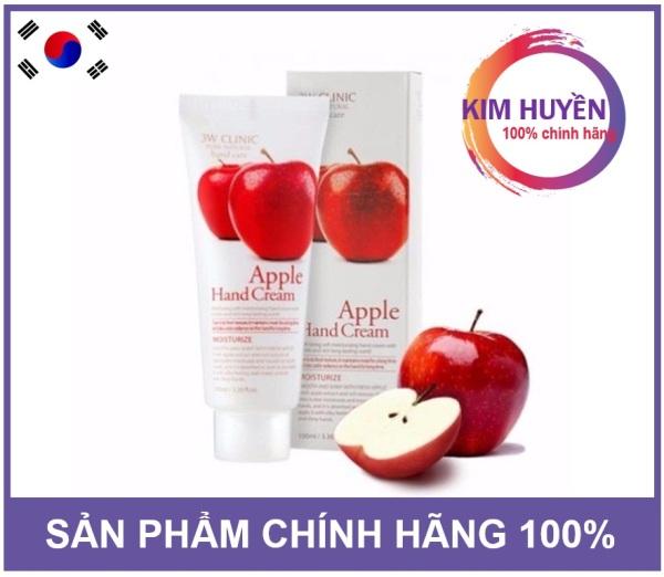 Kem Dưỡng Da Tay 3W Clinic Acacia Hand Cream hương táo 100ml