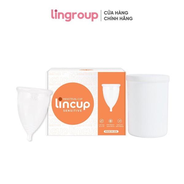 Cốc nguyệt san Lincup, Lincup Sensitive, Lincup Plus + Cốc tiệt trùng