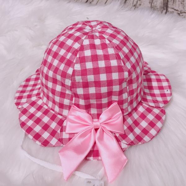 Giá bán Nón Caro bé gái màu hồng xinh xắn (Hồng)