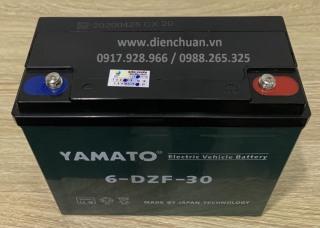 Ắc quy Yamato 12V 30Ah dùng cho xe đạp xe máy điện thumbnail