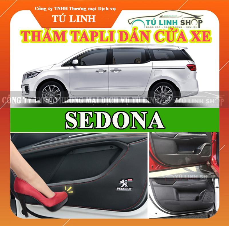 Bộ 4 Thảm Tapli dán cánh cửa chống trầy xước xe SEDONA