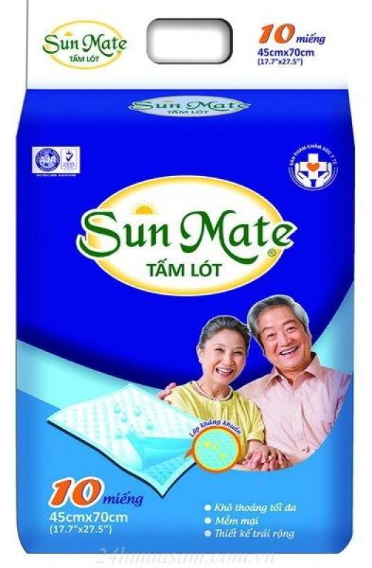 Combo 2 gói Tấm lót người lớn Sunmate (45* 70 cm) giá rẻ
