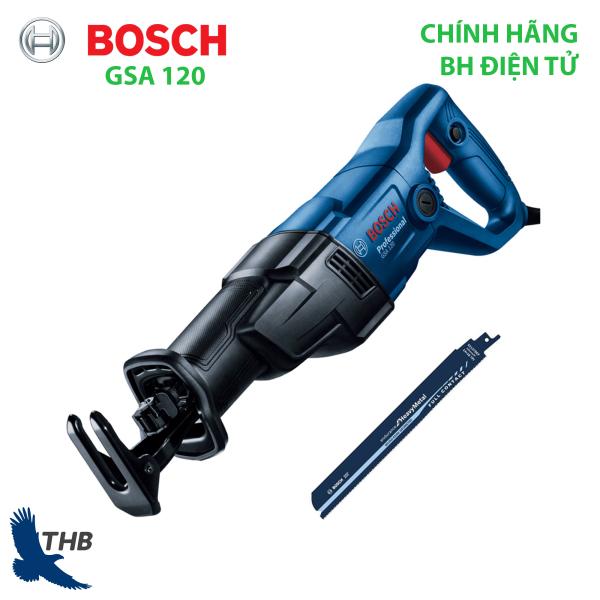 Máy cưa kiếm Bosch GSA 120 Cắt được nhiều hơn với cơ chế truyền động mới nhất, máy cưa kiếm siêu bền