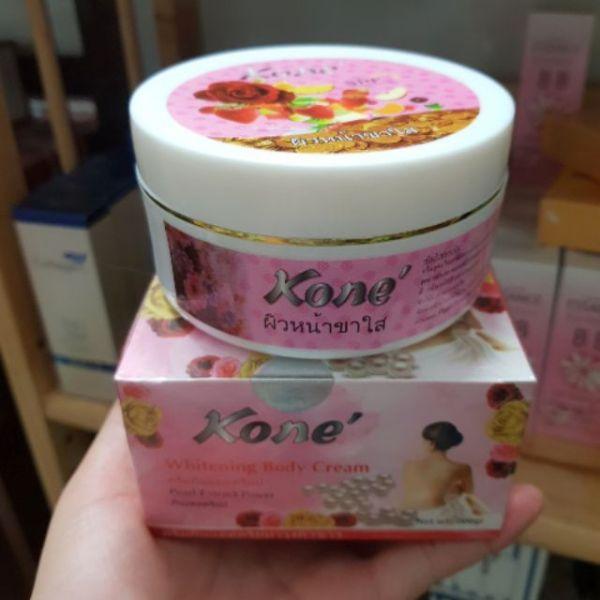 Kem dưỡng trắng da toàn thân body Kone Thái Lan siêu trắng da dưỡng ẩm và làm mịn da