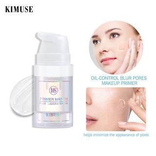 KIMUSE Foundation Primer Base Makeup Tahan Lama 6ml untuk Travel Face Primer thumbnail