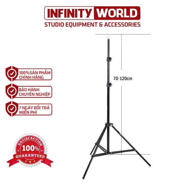 Chân đèn Tianrui 70-200cm giá rẻ (Cao tối đa 2m)