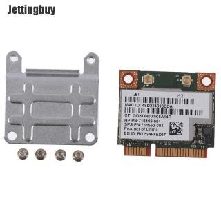 Jettingbuy 2.4 5Ghz 300Mbps Wifi Thẻ Không Dây Bluetooth 4.0 Cho Máy Tính Xách Tay Bcm943228hmb thumbnail