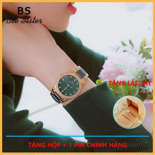 Đồng hồ nữ đẹp -Bs Bee Sister FA1629 dây kim loại chính hãng thời trang Hàn Quốc đơn giản - chống nước tốt bán chạy