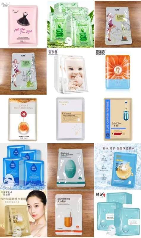 [ Giá Sỉ ] Combo 50, 100 miếng mặt nạ nội địa Trung Loại Thường nội địa Trung ( Mix đủ loại ) nhập khẩu