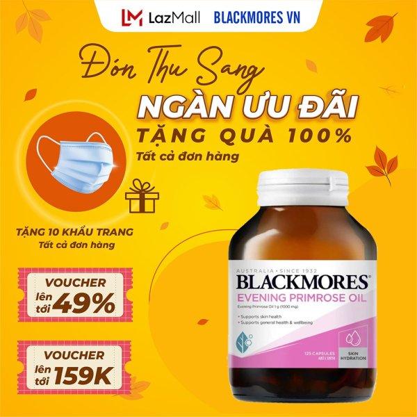 Tinh dầu hoa anh thảo Blackmores Evening primrose oil 125v cao cấp