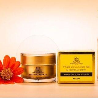 Kem Face Collagen X3 20gram hết mụn hết thâm nám ngừa mụn giảm tàn nhang lâu năm thumbnail