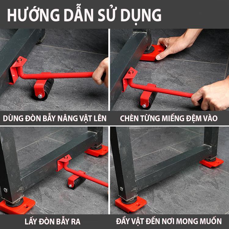bộ dụng cụ hỗ trợ di chuyển đồ đạc, nội thất