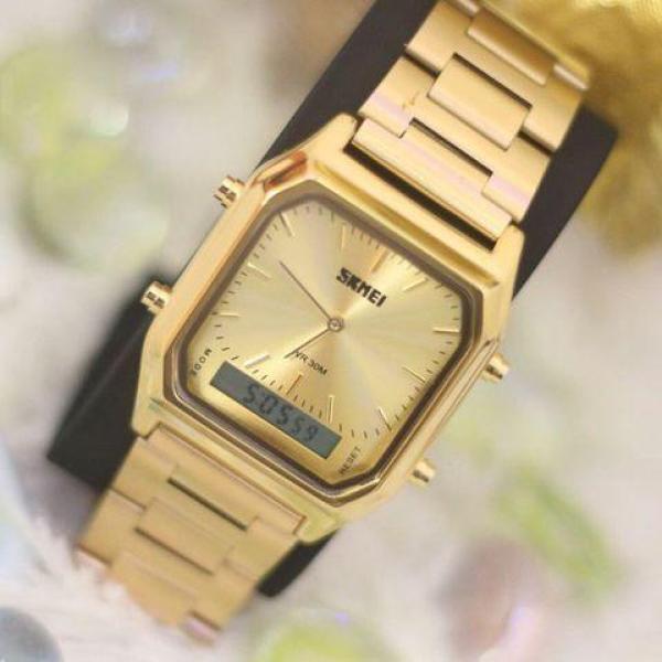 Đồng hồ thời trang nam Skmei kim-điện tử sang trọng