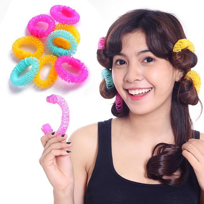 Lô uốn tóc lò xo không dùng nhiệt- phụ kiện tóc giá rẻ - Lavy Store nhập khẩu