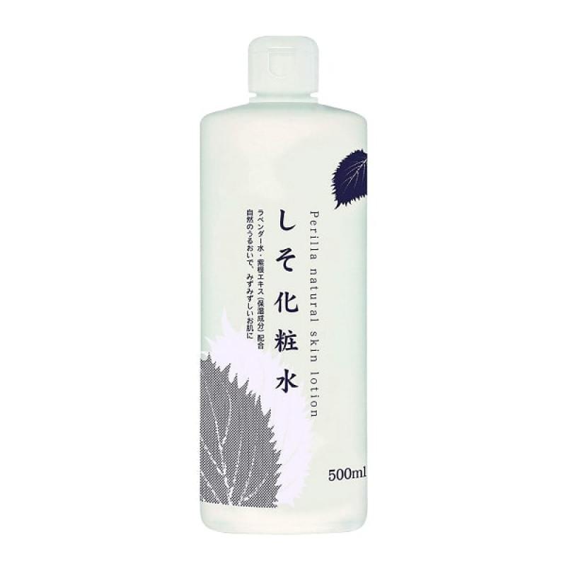 Nước hoa hồng tía tô Dokudami Perilla Natural 500ml cao cấp