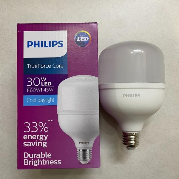 [HCM]Bóng đèn Led Philips trụ tròn 30W E27 gen 3 - siêu sáng 3200lm- bảo hành 24 tháng