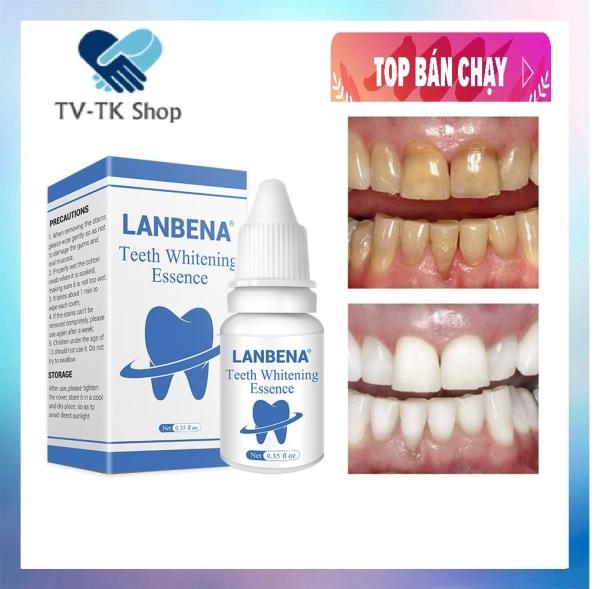 Serum Làm Trắng Răng Và Tẩy Ố Vàng Răng LANBENA - Mẫu mới giá rẻ