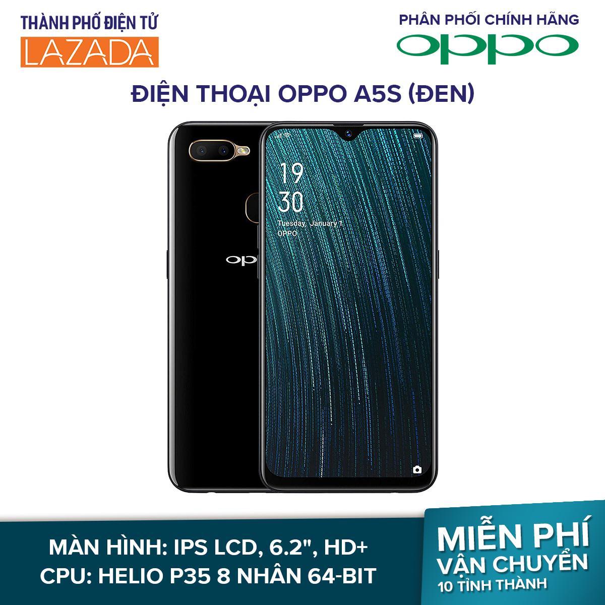 Điện Thoại OPPO A5s - 2 Nano SIM 4G, 2 Camera sau: Chính 13 MP & Phụ 2 MP - Hãng phân phối chính thức