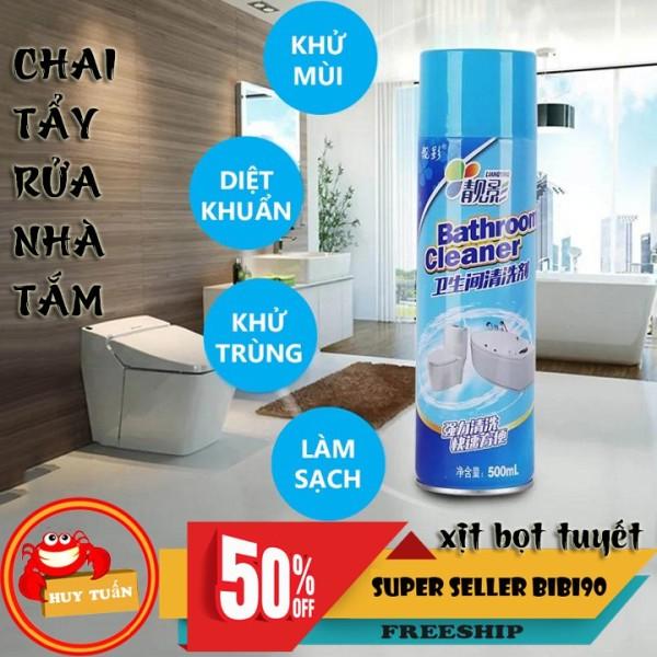 Chai Xịt Tẩy Rửa Nhà Tắm Bathroom Cleaner 500ML