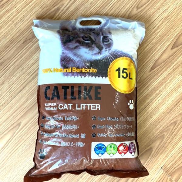 Cát vệ sinh cho mèo Catlike 15 lít
