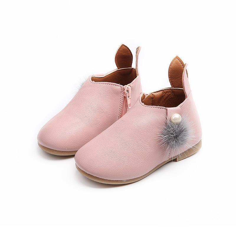 Giá bán Giày bốt bé gái cổ thấp phong cách HQ xinh xắn