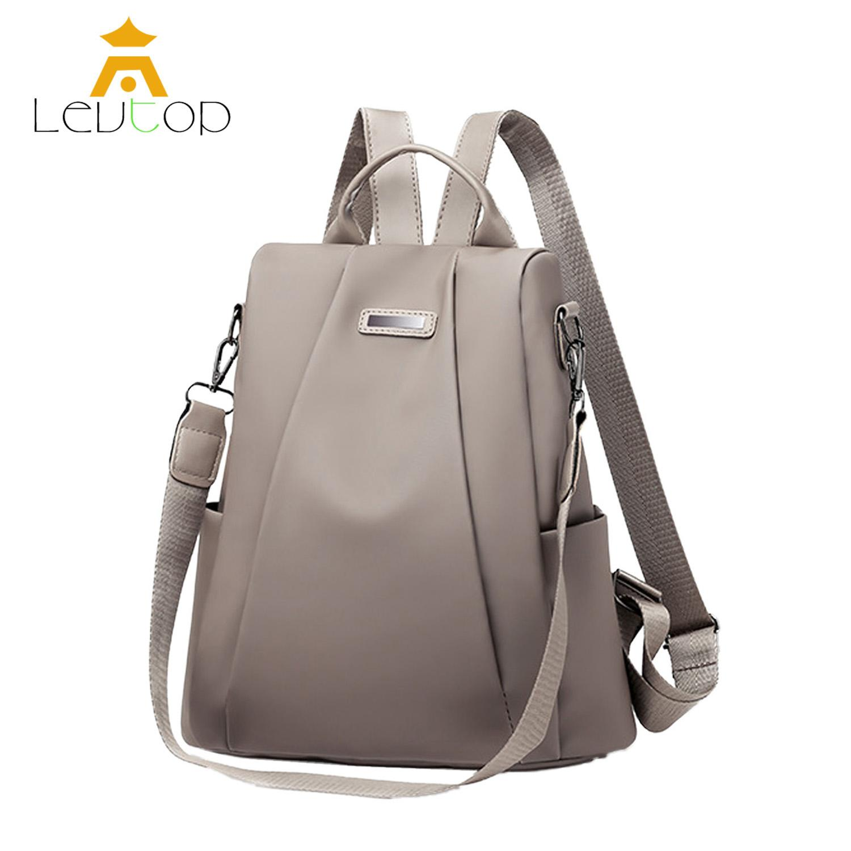 LEVTOP Backpack Women Shoulder Bag Travel School Mini Korean Anti Theft Back  Pack Handbag Sling Bag 58fdf9c5df8e0
