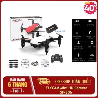 Máy bay flycam điều khiển từ xa cánh gấp SF-806,flycam mini giá rẻ drone siêu nhỏ có camera chất hơn máy bay flycam mavic 2pro,phatom 4 pro,4k,xiaomi,sjrc f11 (nhiều màu) thumbnail