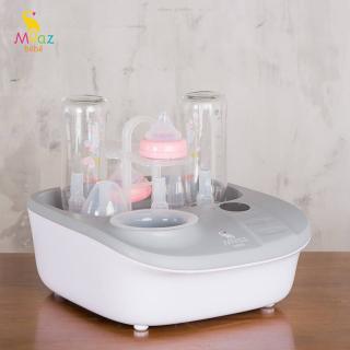 Máy tiệt trùng sấy khô hâm sữa Moaz Bebe MB-005- thiết kế hiện đại với chất liệu nhựa cao cấp, an toàn, không chứa BPA. Dung tích khay chứa rộng.Nhiệt Độ Có Thể Được Điều Chỉnh Giúp Sữa Được Hâm Nóng Đều Hơn, thumbnail