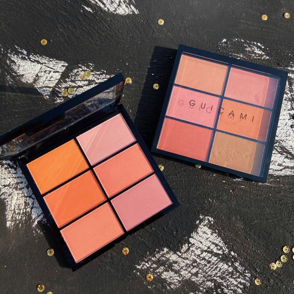 Má hồng cam đào GUICAMI tự nhiên D6-3 Six-color Blush Pallette giá rẻ