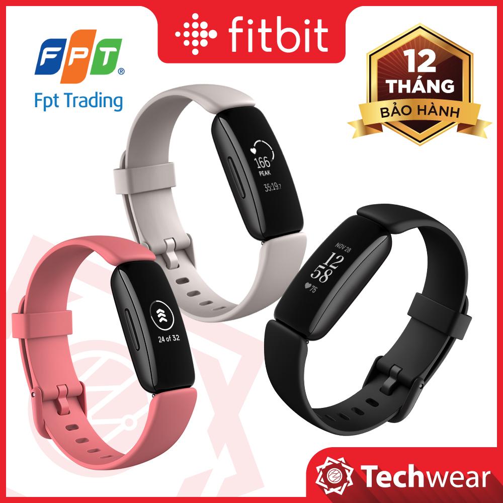 Vòng Đeo Tay Theo Dõi Sức Khỏe Fitbit Inspire 2 - Hàng Chính Hãng Bảo Hành 12 Tháng