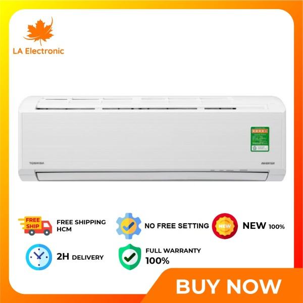 Bảng giá Trả Góp 0% - Máy lạnh Toshiba Inverter 1 HP RAS-H10D2KCVG-V Mẫu 2020 - Miễn phí vận chuyển HCM