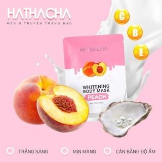 Ủ Trắng body tinh chất Đào Hathacha-Hộp 3 gói thumbnail