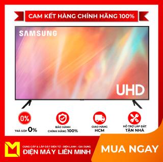 Smart Tivi Samsung 4K 50 inch UA50AU7200 Mới 2021 - 3 Cổng HDMI,Hệ điều hành, giao diện Tizen OS,Remote thông minh tìm kiếm bằng giọng nói,Điều khiển tivi bằng điện thoại Ứng dụng SmartThings thumbnail