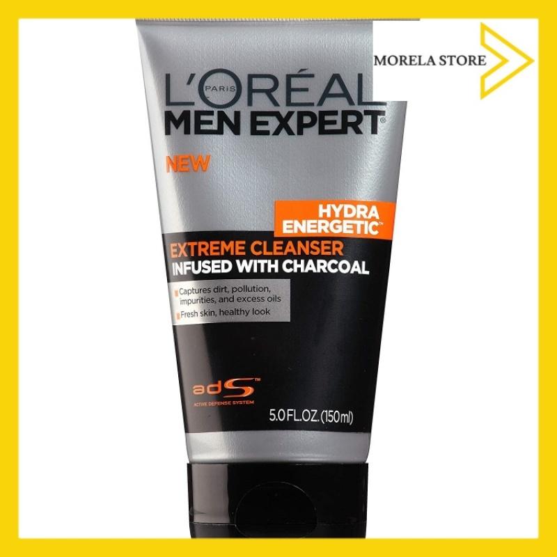 Sữa rửa mặt than hoạt tính cho nam LOreal Men Expert Hydra Energetic Black Charcoal Face Wash 150ml giá rẻ