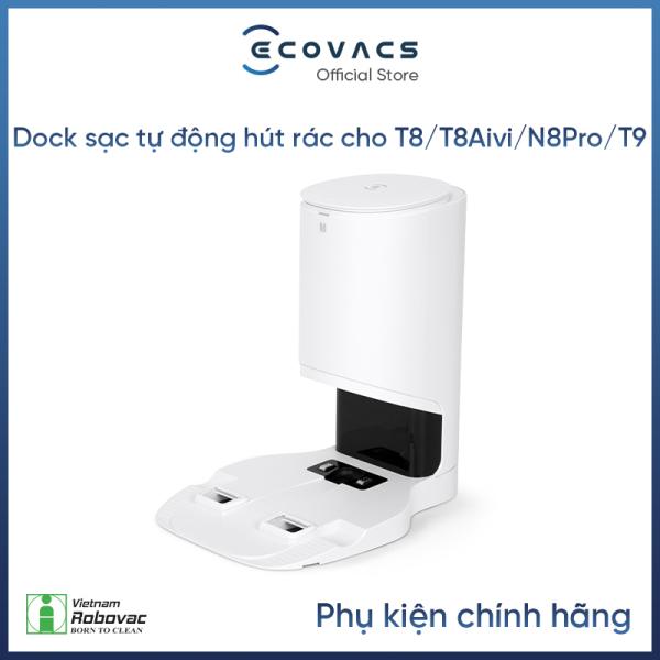 [Trả góp 0%]Dock sạc tự động hút rác dành cho Deebot N8 ProT9 T8 T8 aivi - Hàng Chính Hãng - Tiêu chuẩn Ce