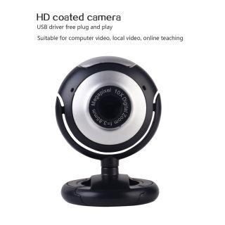 USB Webcam Máy Ảnh Với Mic, Camera Web Nhìn Đêm, Cho Máy Tính Máy Tính Xách Tay Web Camera PC Webcam Camera Máy Tính Gọi Video