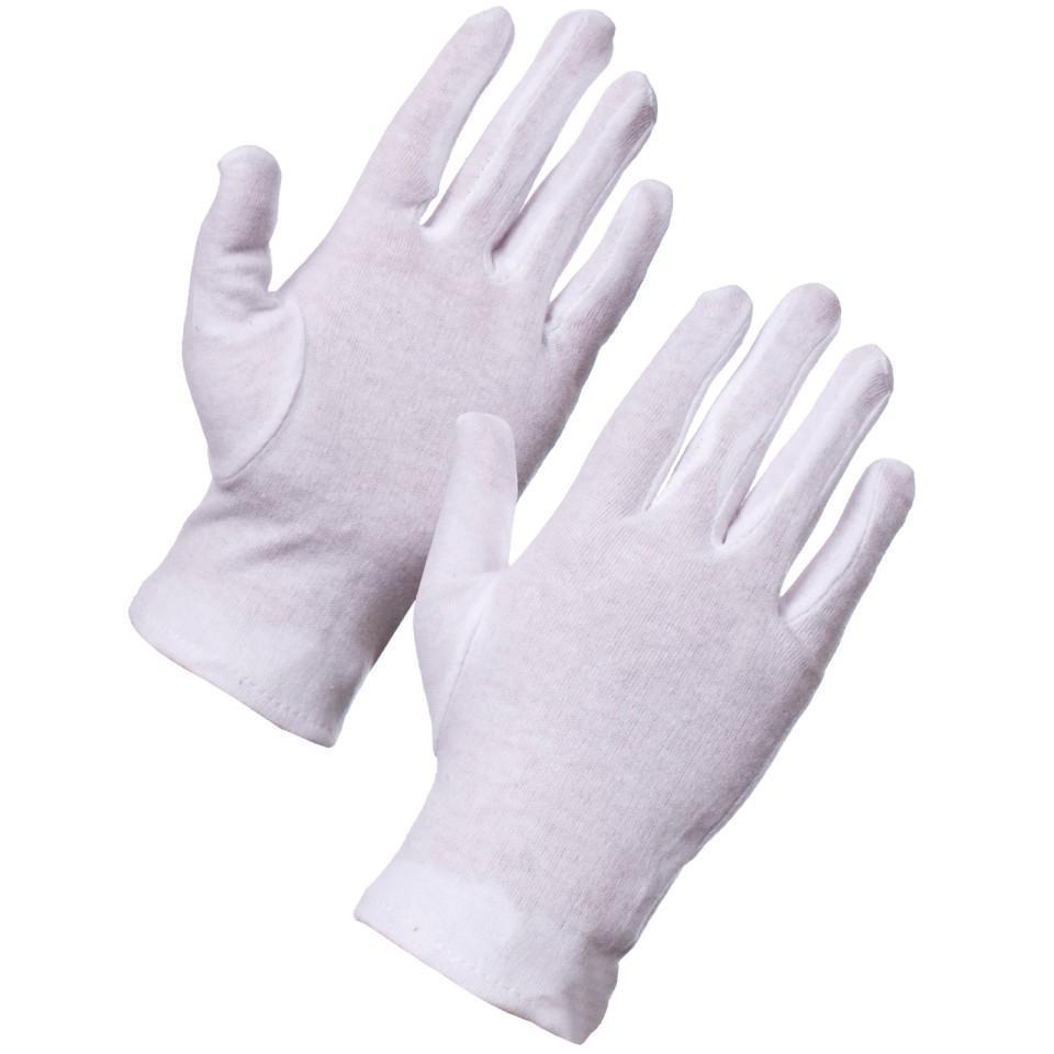 Combo 50 đôi găng tay dệt kim trắng không bụi loại đẹp