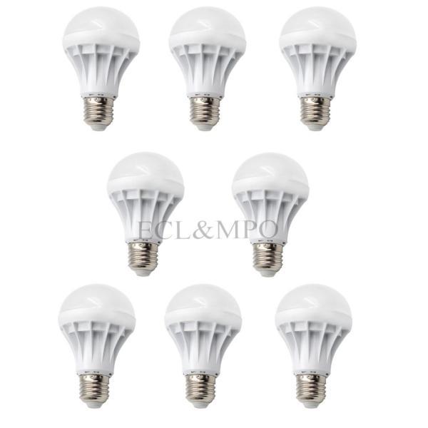 Bộ 8 bóng đèn LED bulb 5W