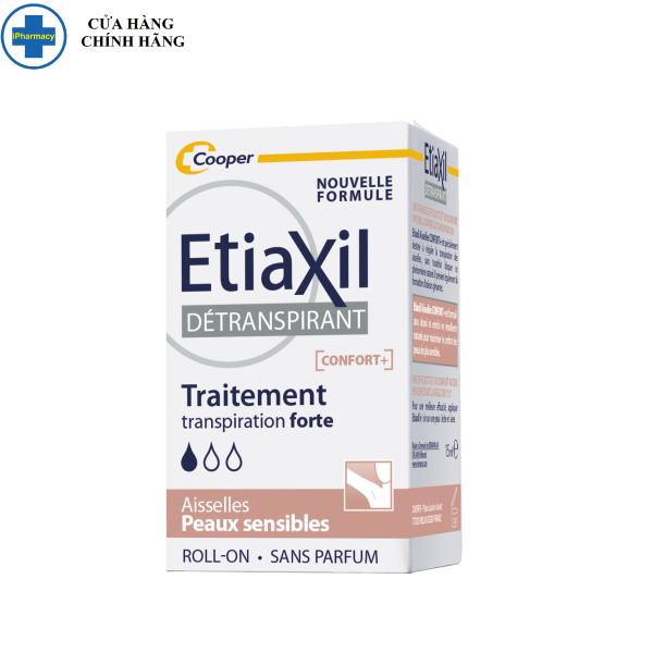 Lăn Khử Mùi EtiaXil Dành Cho Da Siêu Nhạy Cảm 15ml Detranspirant Traitement Roll-On Peaux Sensibles Confort giá rẻ