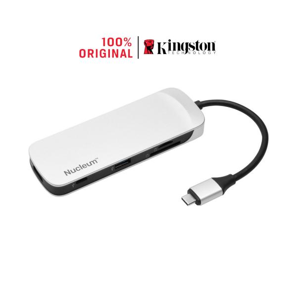 Bảng giá [Voucher 5% tối đa 300k cho đơn từ 200k] Bộ chia USB Type-C Kingston Nucleum 7-in-1 ra HDMI - USB 3.0 - USB Type-C - CardReader (C-HUBC1-SR-EN) Phong Vũ