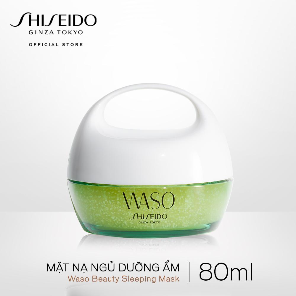 Mặt nạ ngủ dưỡng ẩm Shiseido WASO Beauty Sleeping Mask 80ml